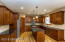 Kitchen Island, Pantry, Granite Countertops