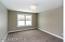 Carpet and large closet!
