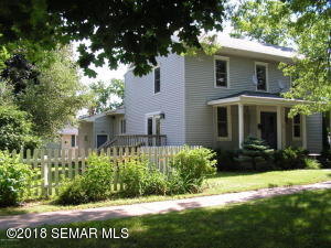 Low maintenance exterior with landscaped backyard