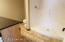 Lower Level 3/4 bath with large shower