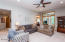 Recessed lighting and lighted ceiling fan