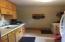 Upper level apartment kitchen