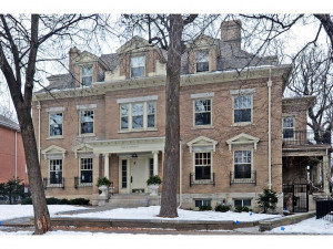 Take advantage of this rare opportunity to own the entire main floor of the historic Bull Mansion.