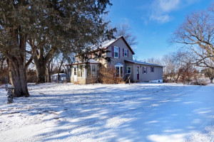 Amazing city lot with 1.85 acres, pole building and 3 bdrm home!