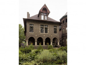 This exquisite converted mansion was originally designed for Crawford Livingston in 1898 by Cass Gilbert. His notable works span from the MN State capitol to the Woolworth building in Manhattan. The details are amazing!