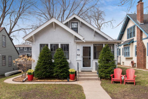 HGTV featured this classic, storybook, SW Minneapolis bungalow located only 2 blocks from Lake Harriet!