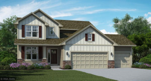 Artists Conceptual Rendering Charming Craftsman Exterior