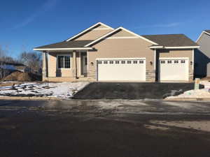 NEW construction one-level living with huge 3 car garage! Established, well maintained association - maintenance free living!