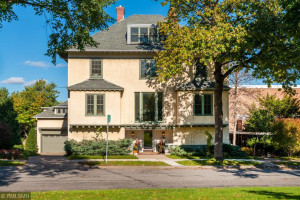 Designed by Louis Long this phenomenal one of a kind home has the best views around, overlooking the Walker Art Center with Vista Views of Downtown Minneapolis yet tucked away within an iconic quiet neighborhood across from Thomas Lowry Park-