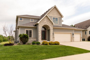 Great curb appeal with beautiful landscaping!