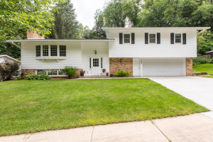 Great curb appeal, new concrete driveway and sidewalk
