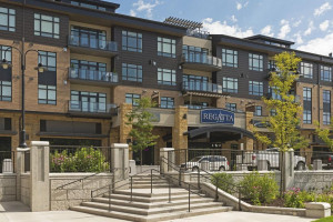 Third floor condo in the Regatta offers wonderful proximity to Wayzata's exciting shops and restaurants