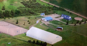 This 16 acre Horse Haven near Holdingford, Rice& Bowlus is setup for training, classes or boarding. There is an outdoor riding arena & an indoor riding arena that is lit w/staging area. Barn w/all weather faucet has 5 box stalls, tack & feed rooms.