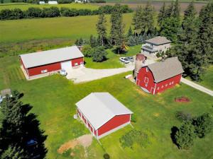 Pole Shed, Horse Barn, Original Barn, Home