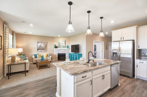 The spacious and open-concept main level allows for optimal versatility and comfort. Delight in the convenience of main level living. *Photo of model, selections may vary