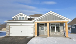 A simply stunning representation of new home architecture, featuring an incredible front porch, all tucked into a smartly designed one-level layout that is every bit as impressive on the inside as out!