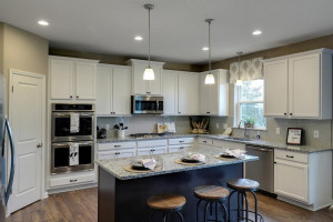Stunning cabinets help bring this home's kitchen to life. *Pictures are of a model home. Colors and finishes in actual home may vary.