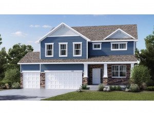 Just a stunning display of new home architecture, this rendering of the Adams will come to life and will offer an awesome introduction to your new home from the curb! *Colors will vary