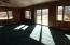Living room patio doors