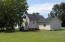 back yard & back of house