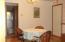 dining area with hardwood floors