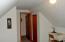 2nd floor bedroom has closet & bath