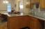 kitchen counter/snack bar