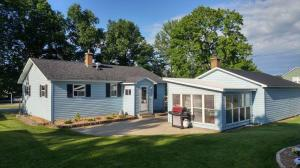 Perfect sized yard to host friends and family or enjoy great time in the secluded back yard.