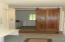 sliding door to utility room