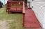 front deck with handi-cap ramp