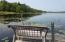 Enjoy the views as you fish off the dock or get ready to go boating or canoeing ! Seller is including the canoes!