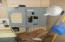 200 amp breaker box in kitchen