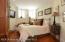 Bedroom at basement level