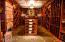 1800 bottle wine cellar custom floors, gorgeous racking and beautiful lighting