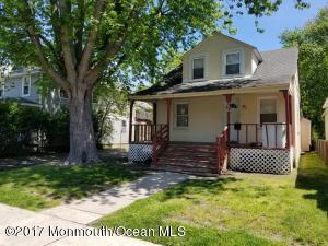 South West Asbury investment opportunity near downtown and train station. Rented at $1955 a month. Big lot, driveway. Sale ''as is'', CO responsibility of buyer.