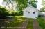 Private backyard...perfect for outdoor entertaining. Detached garage has plenty of storage room.