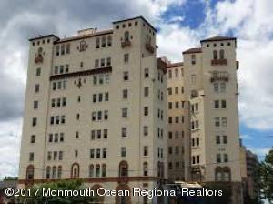 Loft apartment in the Historic Santander building in trendy Asbury Park. Newer galley kitchen, period bathroom with view of Deal Lake. Unit features hardwood floors, on site laundry with superintendent, secured entry, private courtyard and just a short walk to the Asbury Park beaches. Association fee includes heat and hot water. A real must see unit.