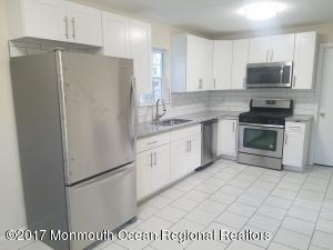 Lakefront Apartment, 4 blocks to Asbury Beaches and Boardwalk.Beautiful newly renovated 3-BR, first floor apartment, only 4 short blocks to Asbury Beaches and boardwalk. Amazing unobstructed views of Sunset Lake out your front door and kitchen and living room windows. Apartment features 3 big bedrooms with full closets, large eat-in kitchen with all brand new stainless appliances, including microwave and dishwasher and granite counters with white tile back-splash. Separate laundry room complete with new washer and dryer. Gleaming pearl-grey hardwood floors throughout. New vanity and toilet in bathroom. Central air and off-street parking.