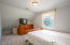 One of 3 bedrooms on second level