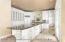 Large custom kitchen with granite countertops