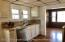 Newly renovated kitchen, stainless steel appliances