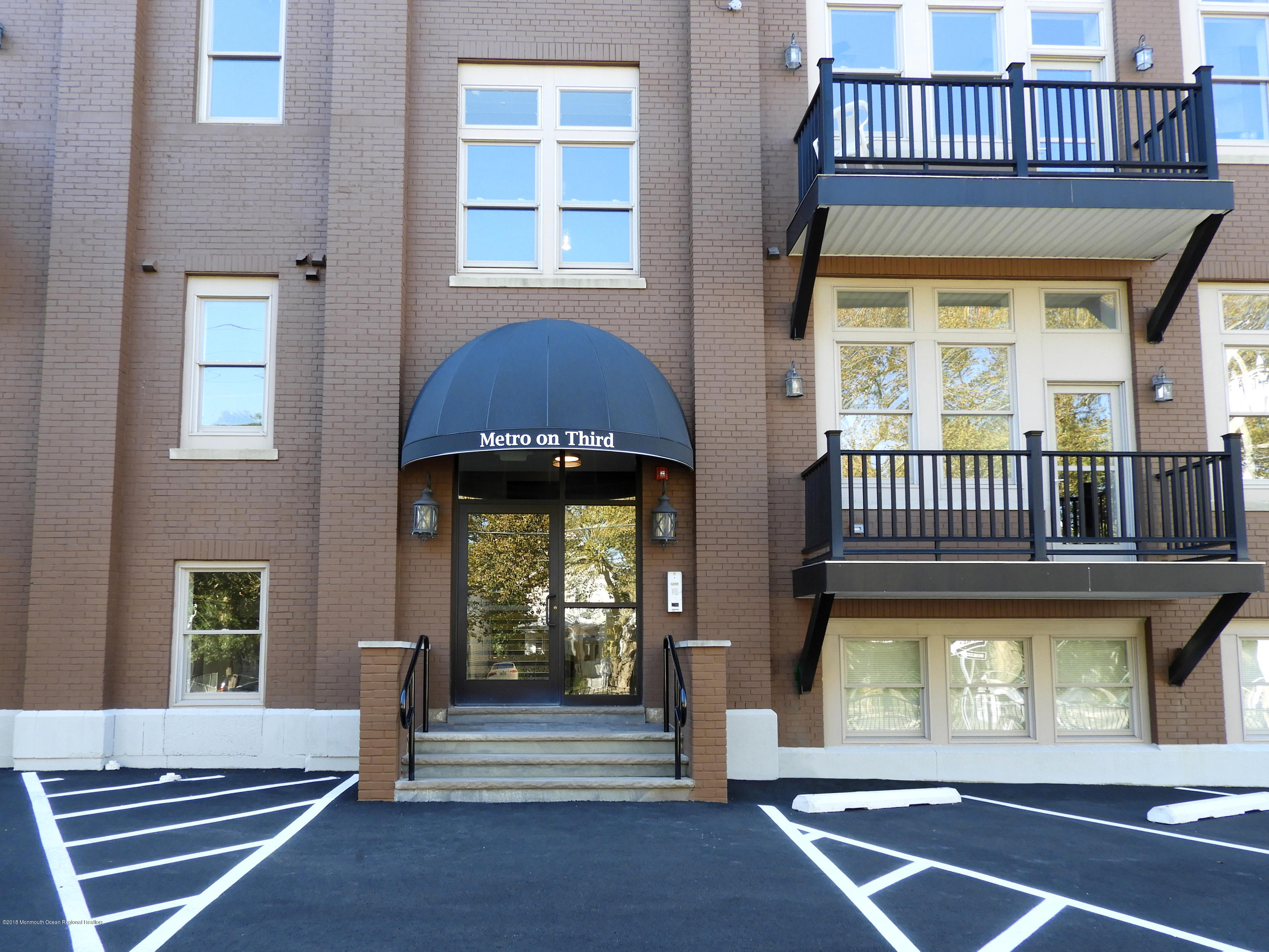 Newest rental addition to Asbury Park! The Metro on 3rd was once the Holy Spirit school, now it's brand new condos with washer & dryers in unit and includes 1 parking space. Centrally located, blocks to beach, downtown and train station.