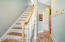 Private back stair case