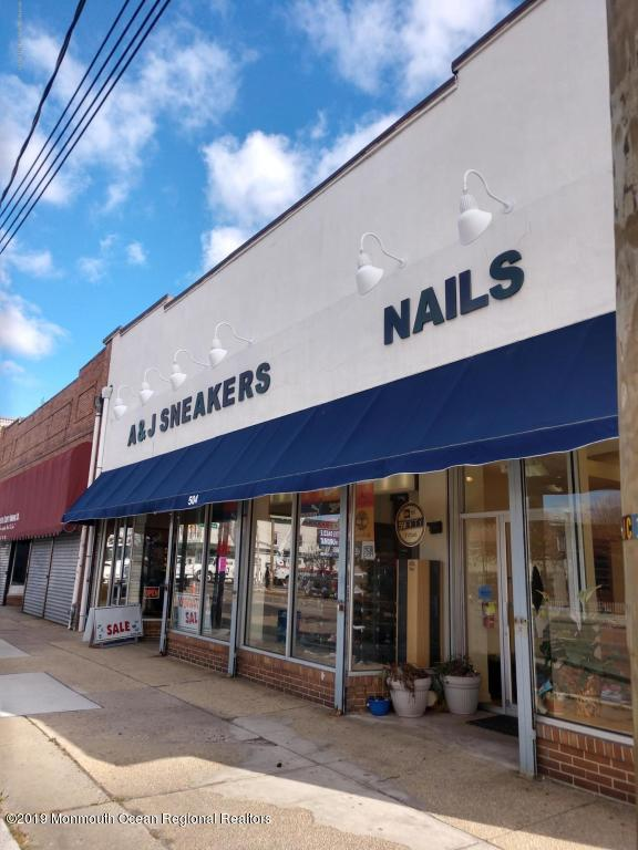 Prime retail location close to Cookman Avenue shops and restaurants.  Main Street is the hottest emerging retail opportunity in town. Existing nail salon offers approx. 2,200 sf.Additional sq ft available if desired.