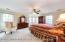 Large master suite with plenty of window light