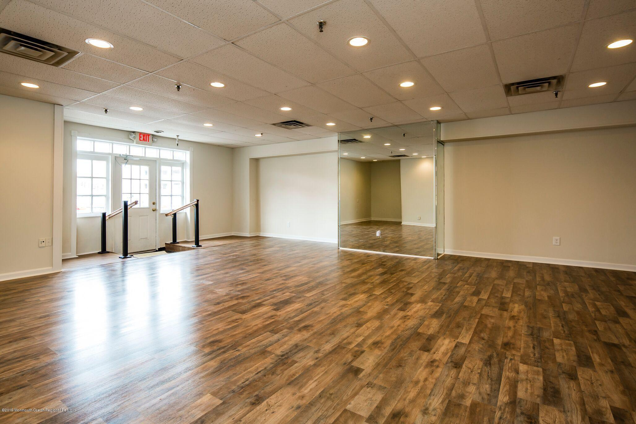 Location location!  Awesome office space available one block from both Front and Broad!  1000 sf of pristine space with bathroom and new gorgeous floors.  Parking lot for tenants of the building.