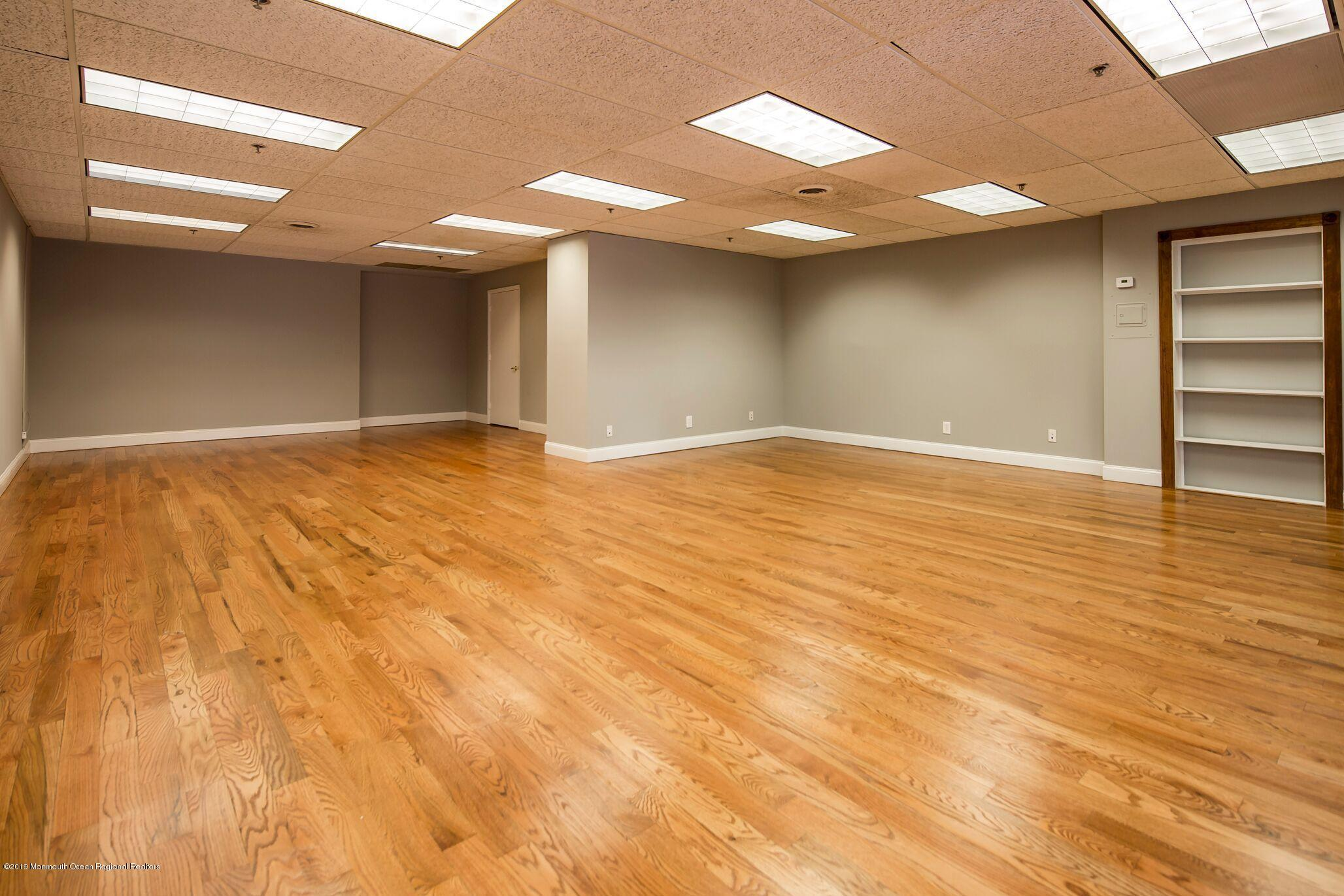 Great location!  Pristine office, medical or retail space one block from both Front Street and Broad Street with both parking lot and on street parking.  Freshly painted with gorgeous hardwood floors.  Kitchen and bathroom and conference area.  Ready for immediate move in!