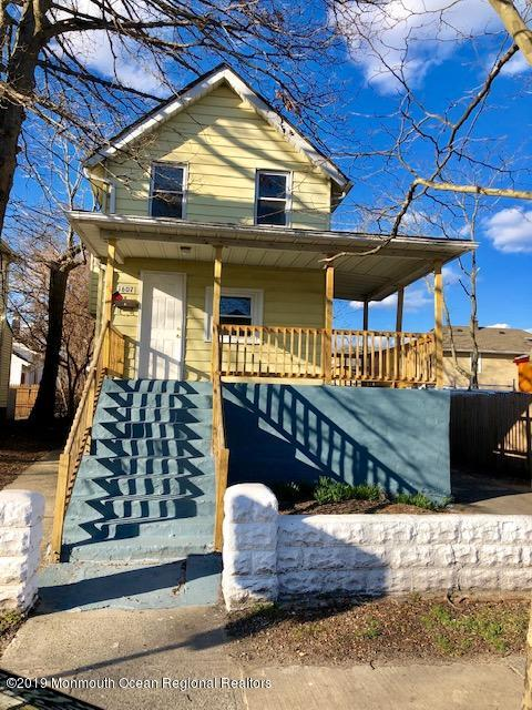 Great oppourtunity to get into red hot Asbury Park.. House is clean and needs updating but loaded w potential.. Home is tenant occupied w a monthly rent of $1,900..