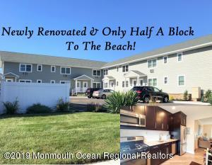 Located in northern Belmar, this newly renovated condo is only a half block walk from the best beaches on the Jersey Shore!