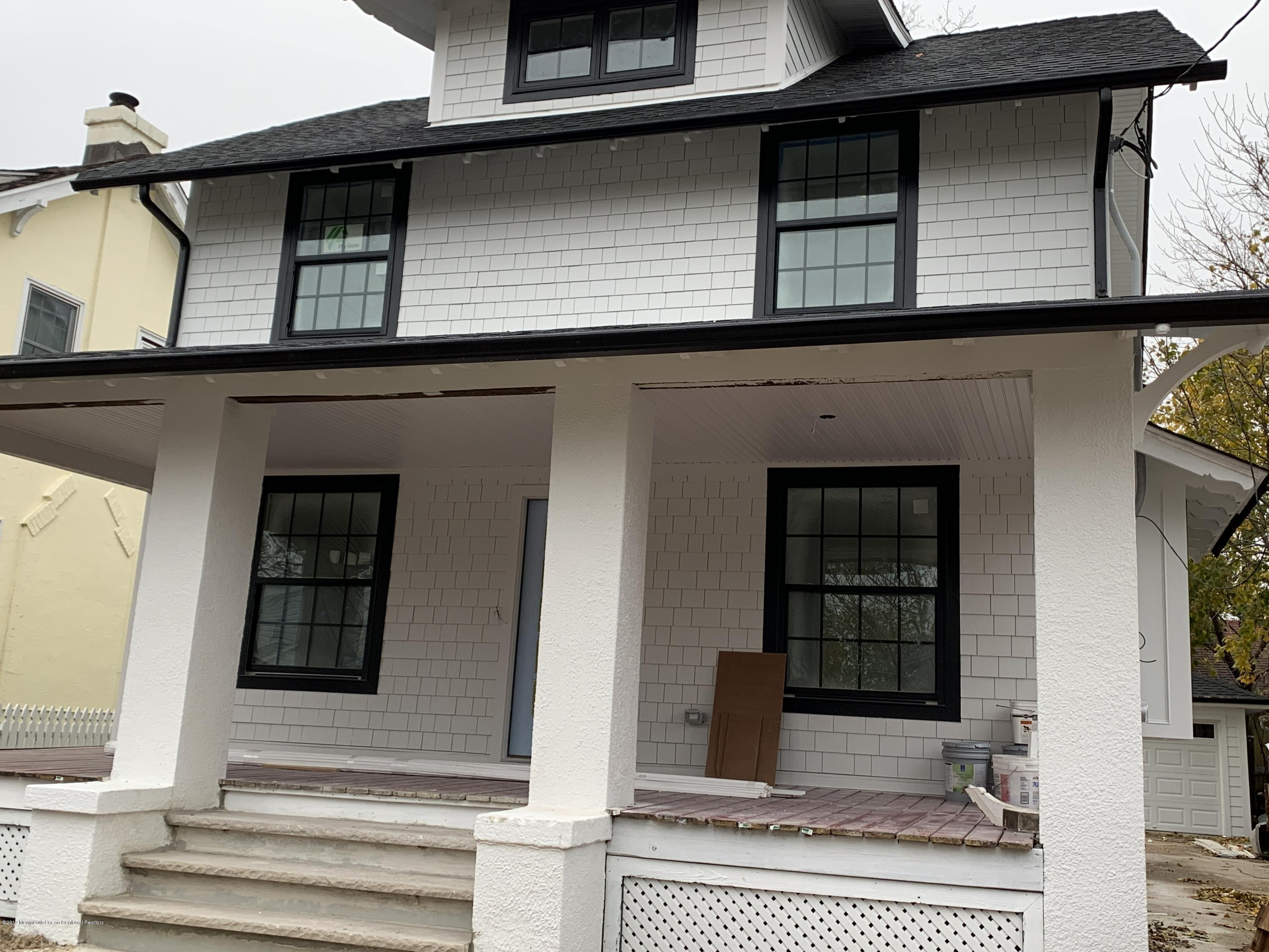 This beauty is almost complete and ready for it's new owner.  She has had a complete renovation to the studs and is now a spectacular combination of vintage Asbury and modern, contemporary living at its best.  Spacious first floor with huge fireplace and designer kitchen and dining room in the desireable NW section of town.  Hardie plank white siding with black windows gives this stately colonial a modern yet timeless vibe.  Huge front porch for three season relaxing and renovated 2 car garage in the back.  Brand new glorious bathrooms and  bedrooms including the newly added ensuite master with finishable basement space and third floor loft area to complete the well thought out restoration of this unique property.  She will be ready for her new owner within the month.